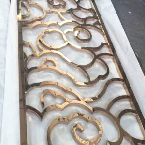 Room Dividers,Partition Titanium Gold Coating